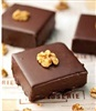 Ganache Covered Walnut Brownie